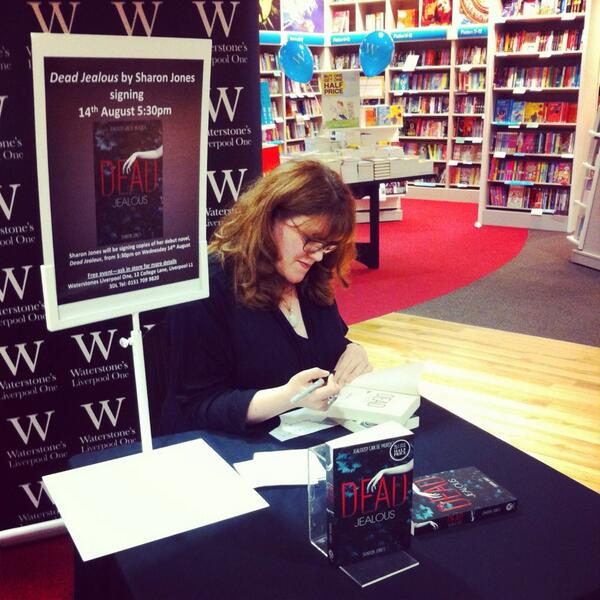 Sharon Jones Event – Signing – Kate Ormand
