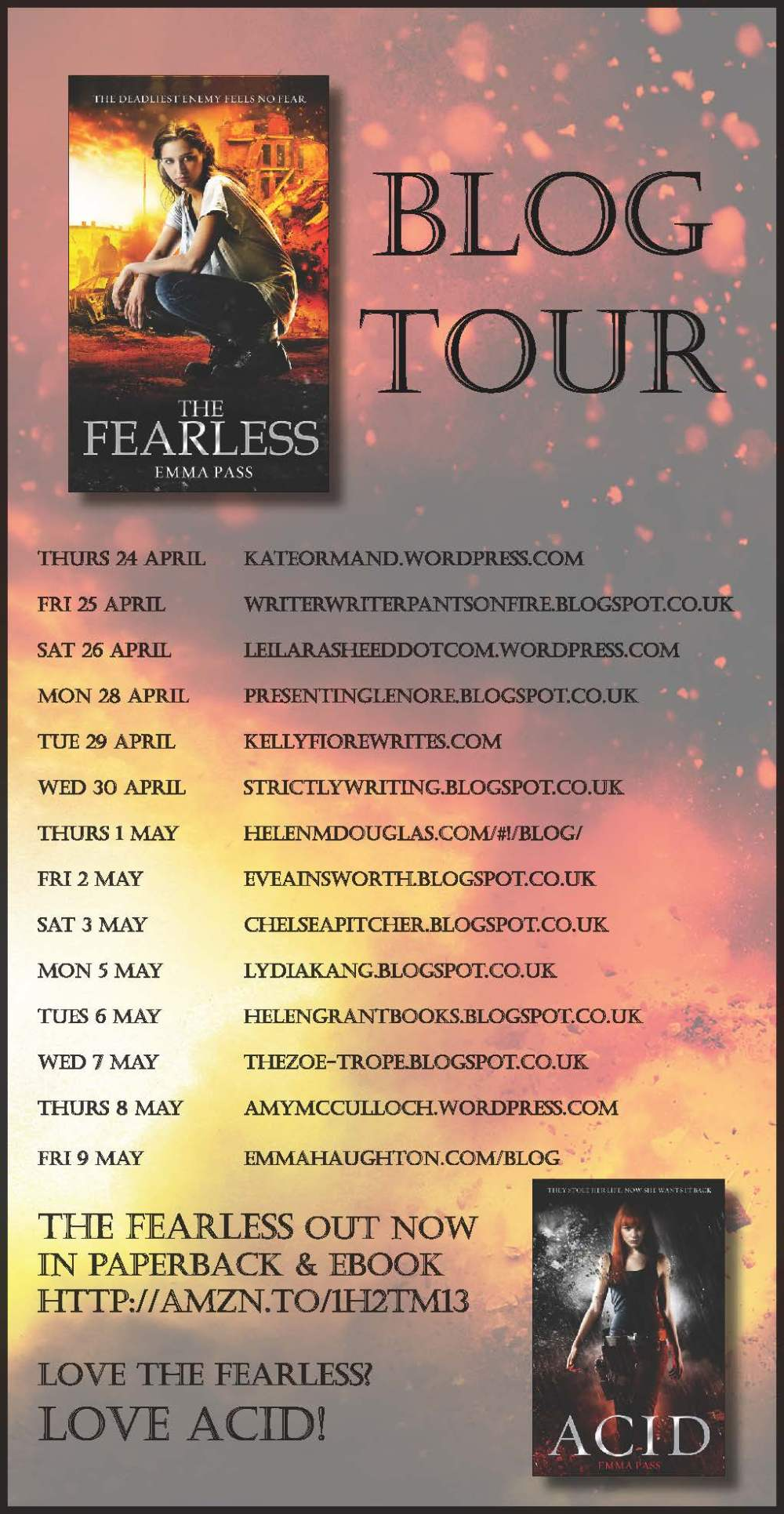The Fearless blog tour banner FINAL