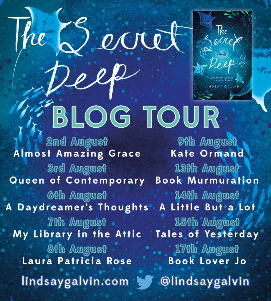 Secret Deep blog tour banner